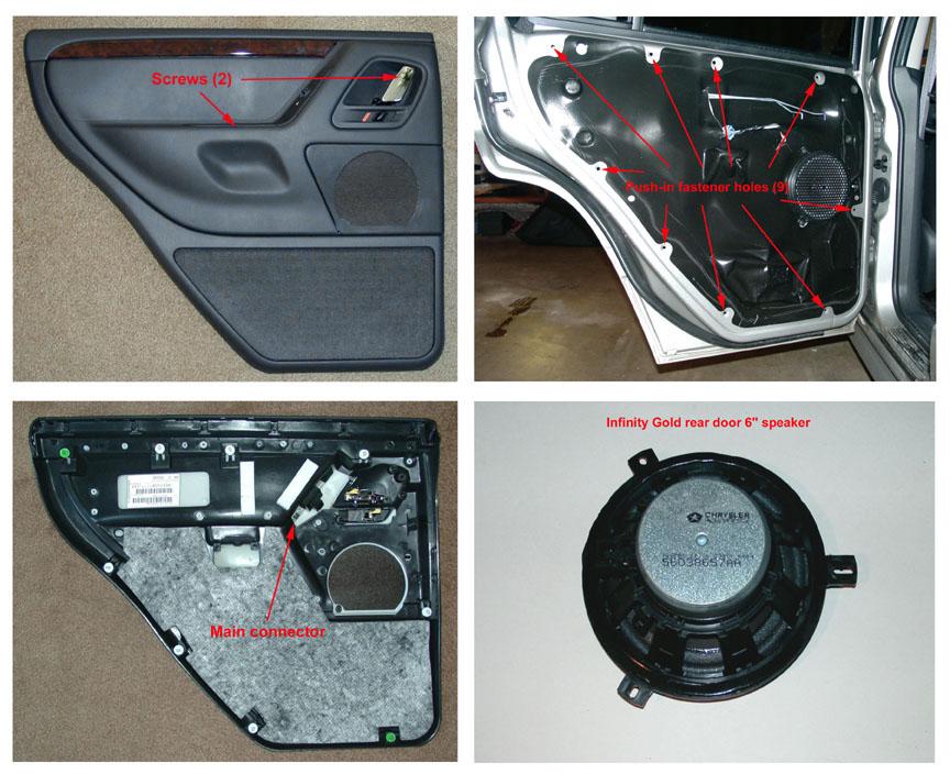 2003 jeep grand cherokee driver door panel removal