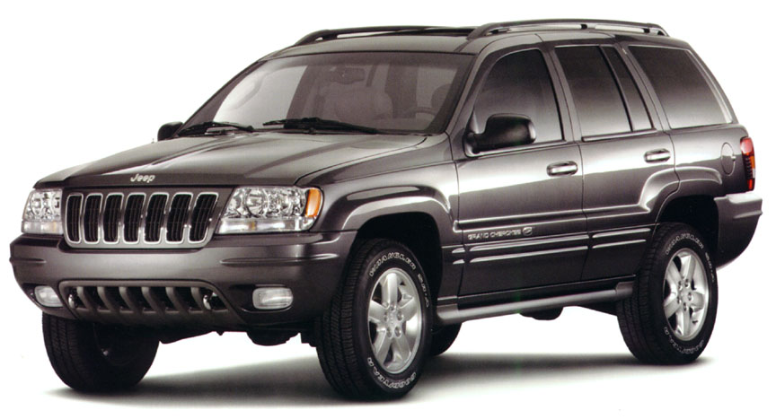 Thooks Front Chrome on 1995 Jeep Grand Cherokee 4x4