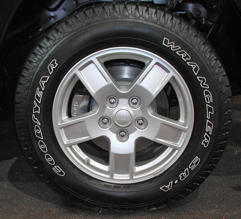 Orbitek on Jeep Grand Cherokee Size